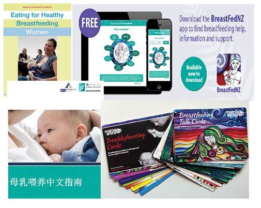Breastfeeding resources