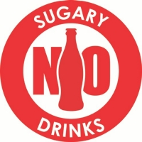 No sugary drinks logo