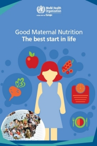 Cover of the World Health Organisation report on maternal nutrition